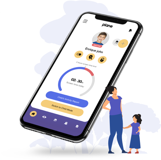 World's first science-based parental control app that keeps your children safe online and their eyes healthy
