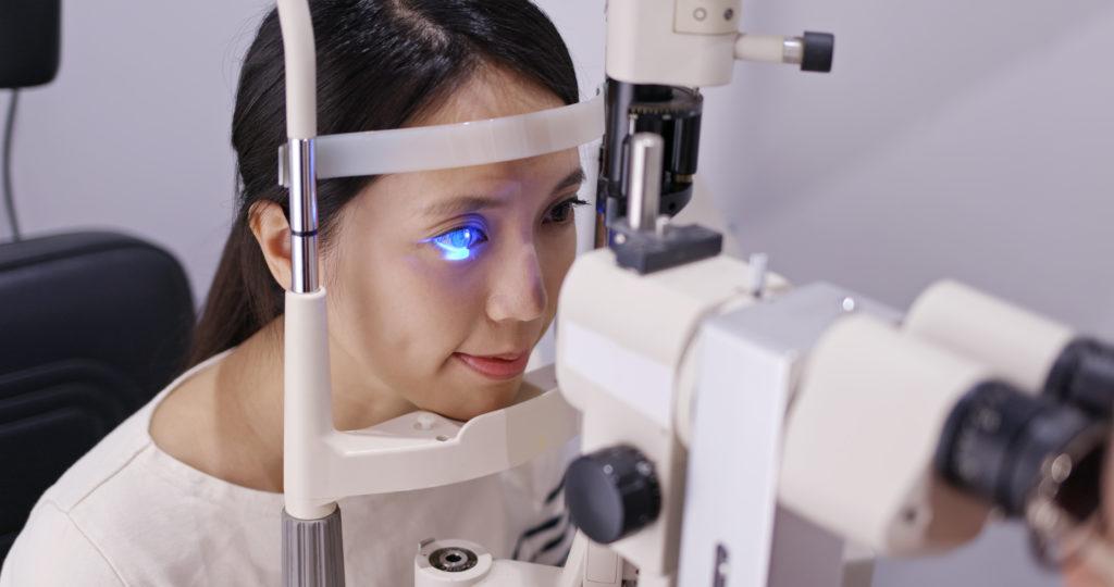 vision acuity test VAT