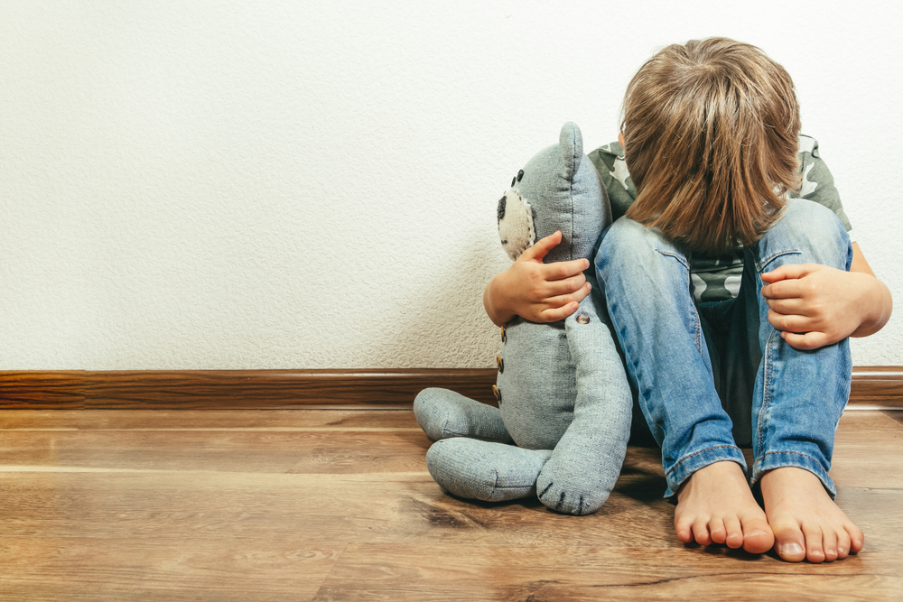 child with social anxiety