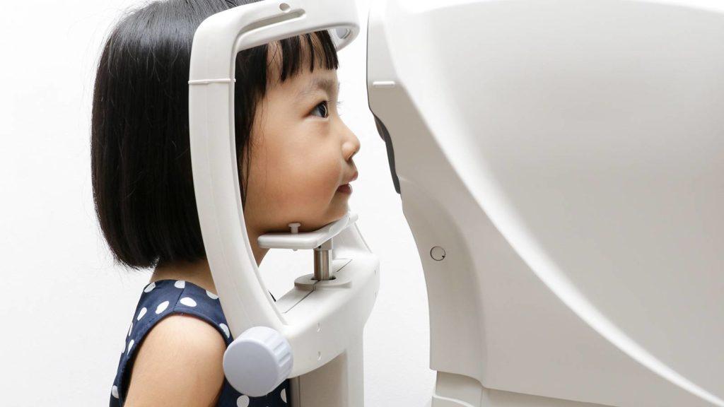 toddler eye exam